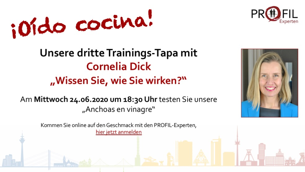 dritte Trainings-Tapa der PROFIL-Experten