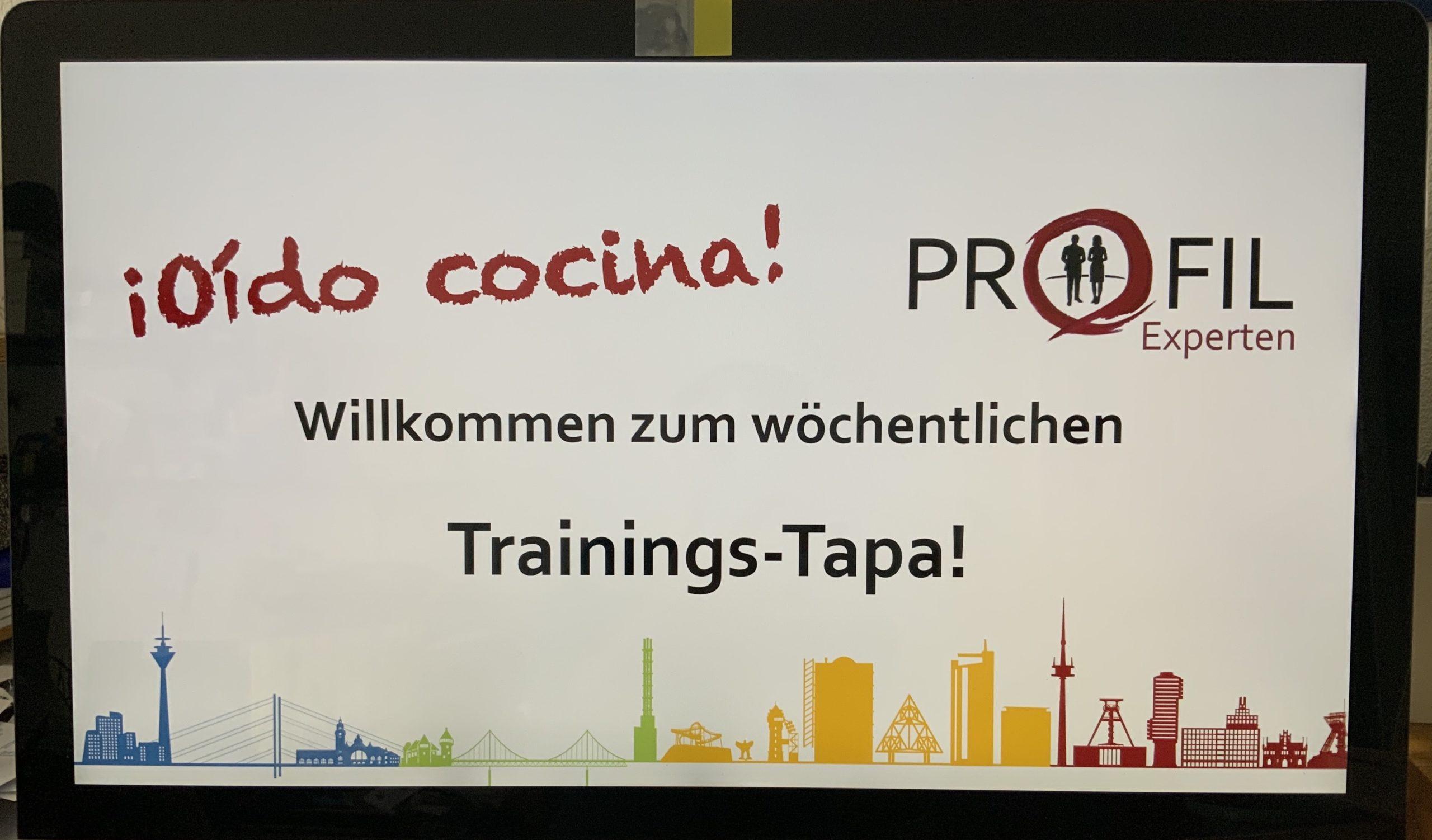 Trainings-Tapa der PROFIL-Experten
