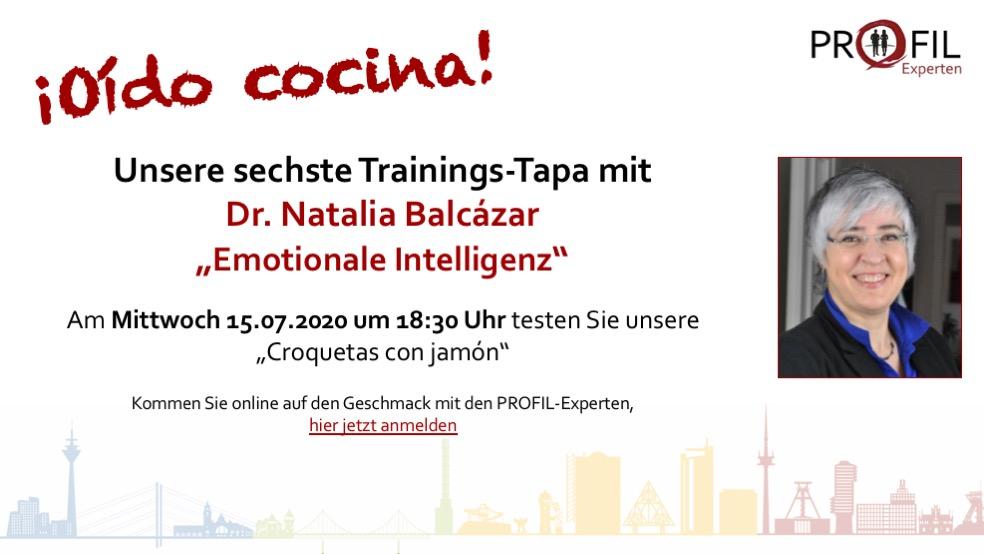 sechste Trainings-Tapa der PROFIL-Experten