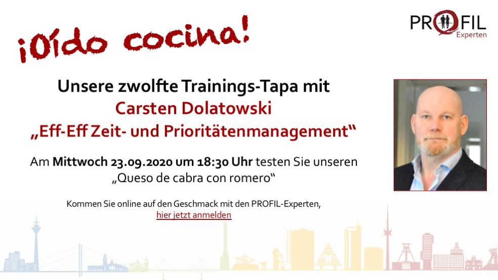 zwolfte Trainings-Tapa der PROFIL-Experten