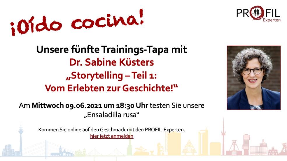 Storytelling Teil 1 mit Dr. Sabine Küsters