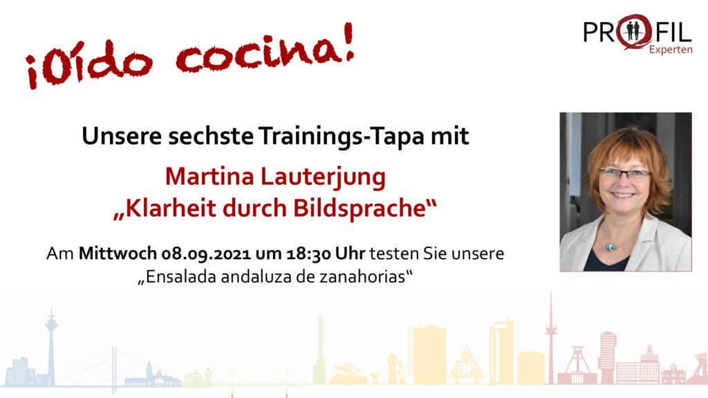 Trainings-Tapa Martina Lauterung 08-09.2021
